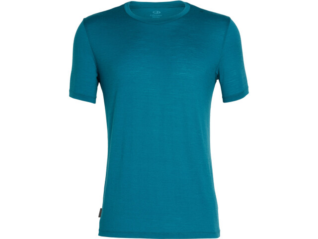 Icebreaker Tech Lite Lyhythihainen Pyöreäkauluksinen T-paita Miehet, poseidon